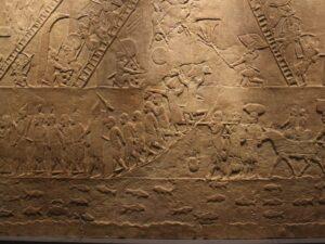 Grabado sumerio