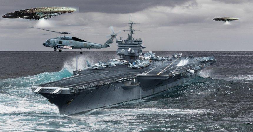 Marina Estadounidense y aceptación del fenómeno OVNI